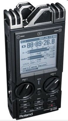 New Roland R series Field Recorder